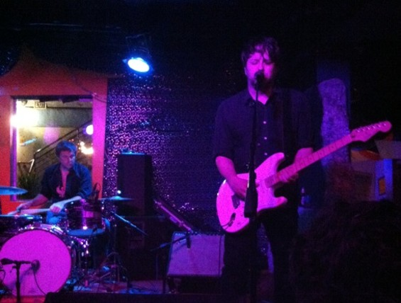 Six Organs of Admittance at Bottom of the Hill on Saturday.