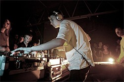 SHAUN BLOODWORTH - Skream: One of dubstep's major players still lives with mum.