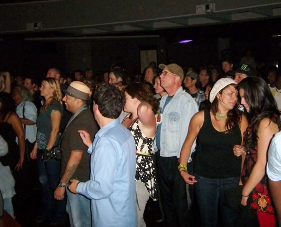 Sly & Robbie brought out a solid crowd to Yoshi's - TOMAS PALERMO