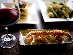 JEN SISKA - Small plate, big taste: honey walnut prawns.