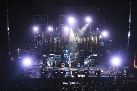 Smashing Pumpkins at the Fox Friday night. - CHRISTOPHER VICTORIO
