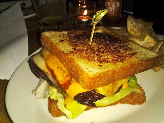 Smoked Meatloaf Sandwich on Texas Toast - MARY LADD
