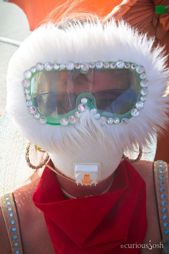 "So basically prepare for Burning Man - JOSH ""CURIOUSJOSH"" REISS"