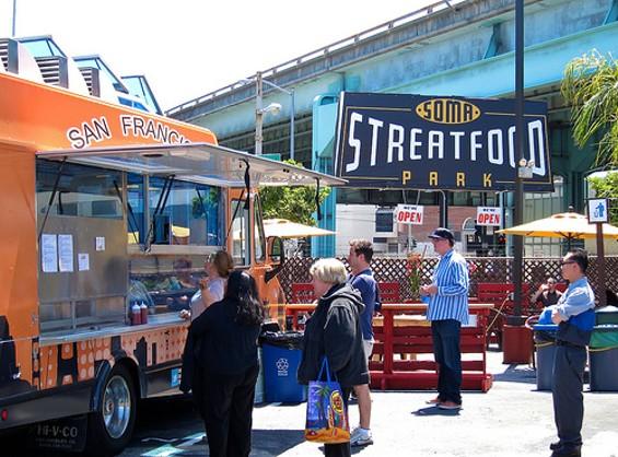 SoMa StrEat Food Park. - FLICKR/NIALLKENNEDY
