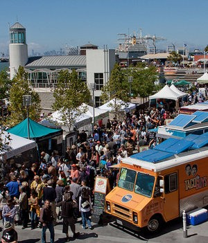 Some 110,000 showed up at Jack London Square for Eat Real last month. - ~DGIES/FLICKR
