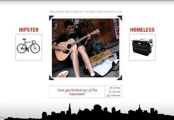Some people think the premise is mean, but Parker Ruhstaller plans to give any ad revenue to homeless advocacy groups.