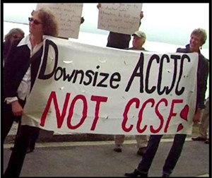 """Some people would call this """"smart"""" - SAVE CCSF"""