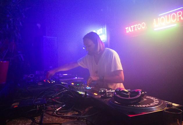 DJ Sprinkles works the RMX-1000 at Honey Soundsystem, August 23 - JOHAN AARDAL