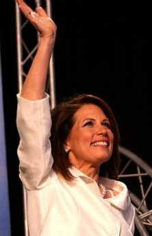 Someone has managed to out-extreme Michele Bachmann