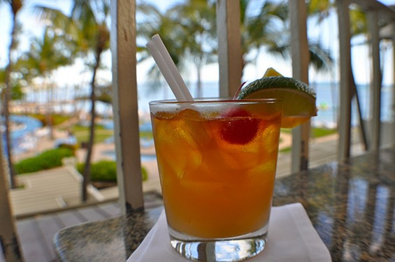Somewhere on Maui, people are drinking mai tais. In shorts. - SARAH_ACKERMAN/FLICKR