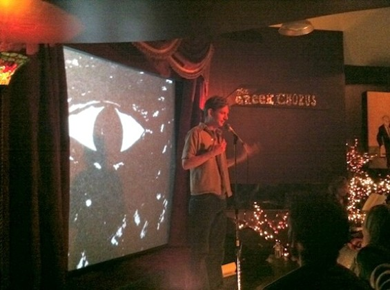 Sonny Smith performing at the Lost Church in 2011.