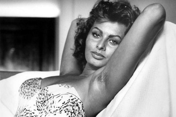 Sophia Loren did not.