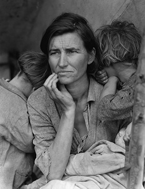 Sorry ma -- your day care needs are no longer compatible with the state's plans - DOROTHEA LANGE