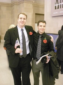 South African-born Dieter Leibold (left) and Pieter Janse Van Rensburg bring many more names to America - JOE ESKENAZI