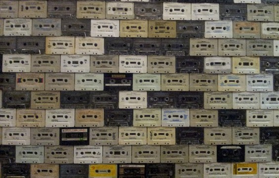 Southside Spirit House has a giant wall of cassettes! - PETE KANE