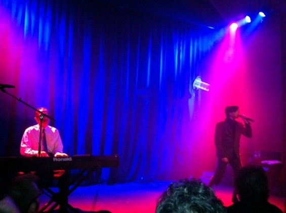 Sparks at the Chapel last night.