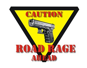Speeding + beating = road rage