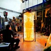 Seemen's Kal Spelletich Takes Fire-Shooting Robot Art to Prague