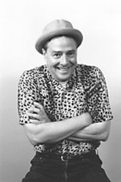 Spicy Currie: The actor in leopard print.