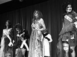 "JILLIAN  NORTHRUP - SpookyCon's ""Miss Undead 2003"" pageant."