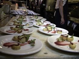 SPQR's Matthew Accarrino's tasting plates. - STUDIO GOURMET'S FACEBOOK PAGE