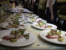 SPQR's Matthew Accarrino's tasting plates. - STUDIO GOURMET'S FACEBOOK PAGE