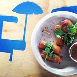 OMAR MAMOON - Spring rolls at last year's Street Food Festival.