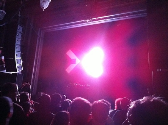 Squarepusher at the Regency Ballroom. Cover your eyes.