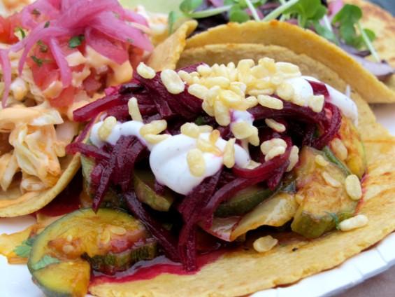 Squash Tagine Tacos - LOU BUSTAMANTE
