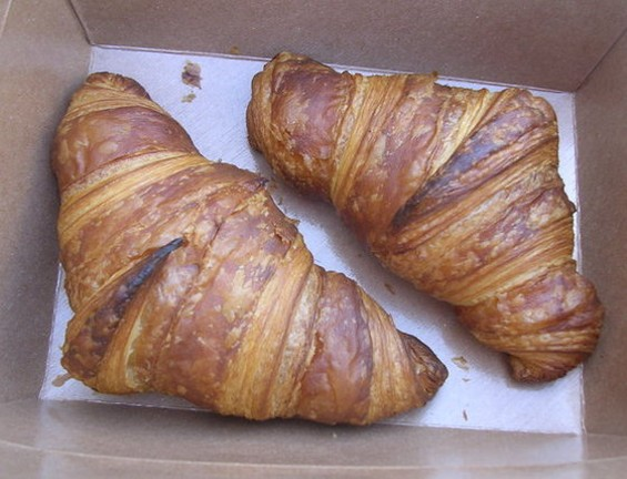 Starter Bakery croissants. - JOHN BIRDSALL