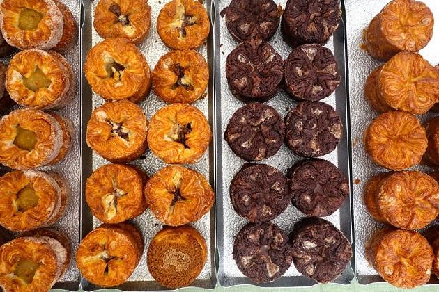Starter Bakery's kougin amanns. - FERRON SALNIKER