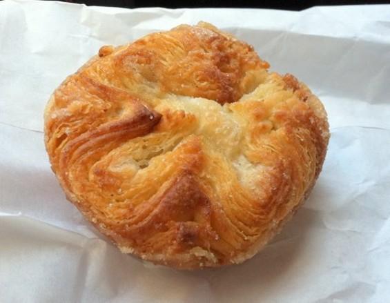 Starter Bakery's kouign amann. - JONATHAN KAUFFMAN