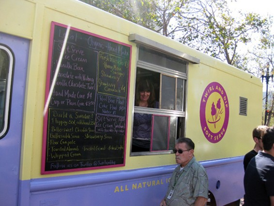 Starting in January, the Twirl and Dip truck will hit Marina Green and Golden Gate Park. - LUIS CHONG