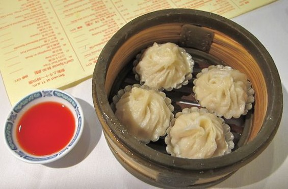 Steamed Shanghai dumplings at Great Eastern - W. BLAKE GRAY