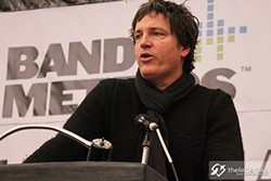 KENNETH YEUNG - Stephan Jenkins rambled his way through SF MusicTech.