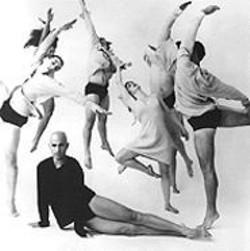 ANDREW  ECCLES - Stephen Petronio's dancers orbit around him in Strange Attractors.