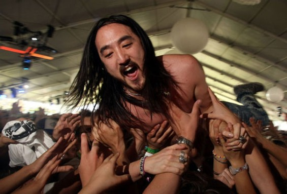 Steve Aoki plays the Bill Graham Civic Auditorium on Saturday
