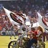 Just Hours Before Kickoff, 49ers' Harley-Riding Opening Act Couldn't Get His Motorcycle Started