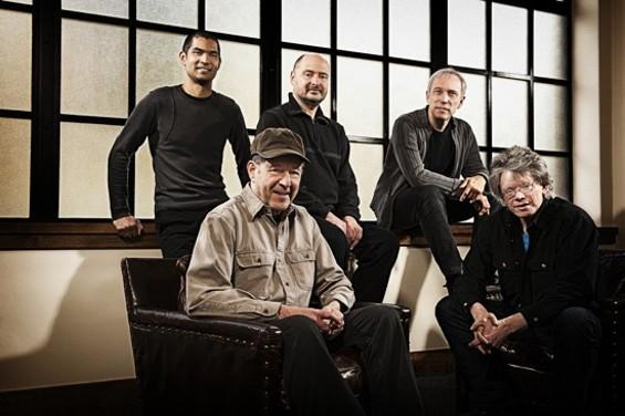 Steve Reich (seated, at left) with Kronos Quartet - JAY BLAKESBERG
