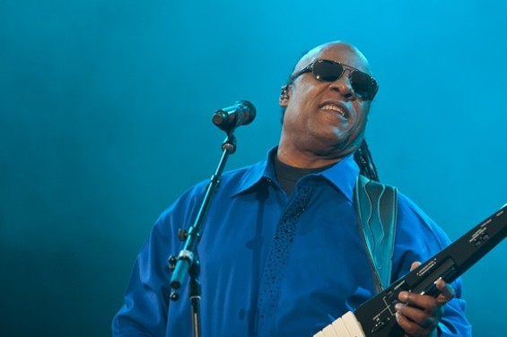 Stevie Wonder at Outside Lands. - CHRISTOPHER VICTORIO