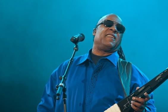 Stevie Wonder at Outside Lands. - CHRISTOPHER VICTORIO