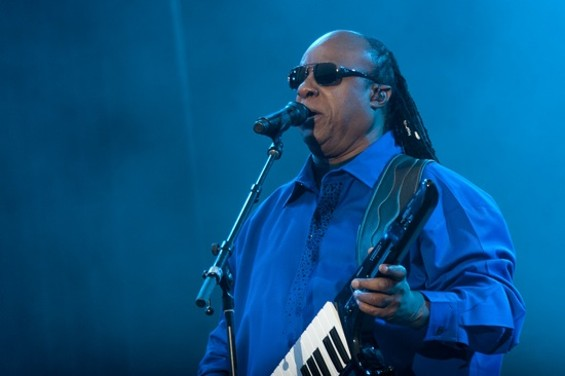 Stevie Wonder at Outside Lands - CHRISTOPHER VICTORIO