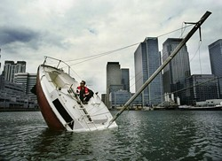 Still sinking...