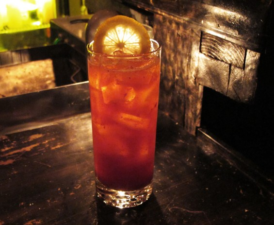 Strawberry Cooler at Blackbird - LOU BUSTAMANTE