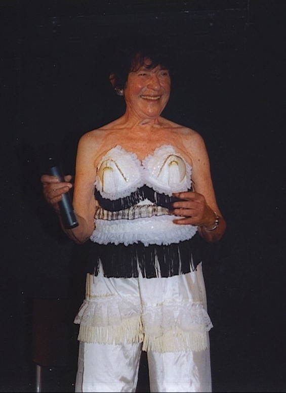 Stripping Granny in Action