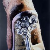 Strut , 2004-2005, by Marilyn Minter - COURTESY OF SFMOMA