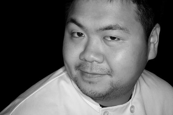 Summit chef Eddie Lau. - MEIGAN CANFIELD