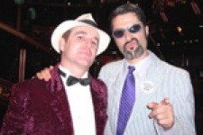 Sunset Promotion's John Miles (left) and Robbie Kowal