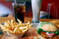 EVAN DUCHARME - Super Duper's juicy burger.