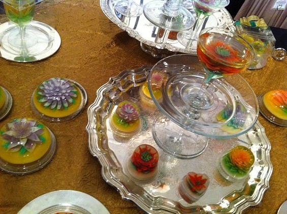 Suprise: Sweets Collections' decorative gelatin creations are completely edible. - SEAN TIMBERLAKE